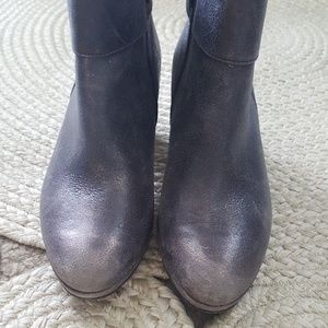 Paul Green Shoes - Paul Green Metallic Ankle Booties